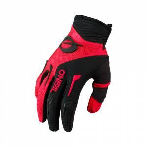ONeal Kids Element Red Black Motocross Gloves
