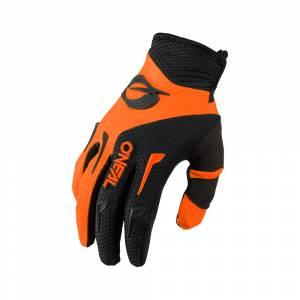 ONeal Kids Element Orange Black Motocross Gloves