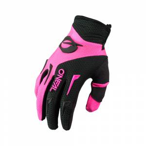 ONeal Element Black Pink Women's Motocross Gloves