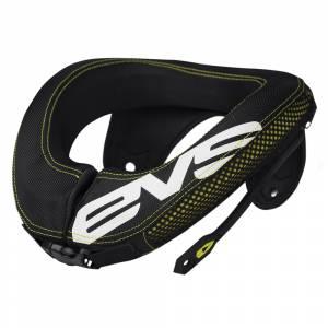 EVS R3 Black Hi-Viz Yellow Neck Protector