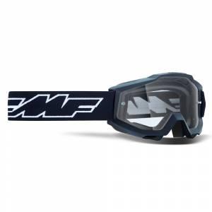 100% FMF Kids Powerbomb Rocket Black Clear Lens Motocross Goggles