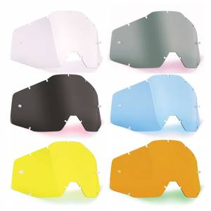 100% FMF Powerbomb Powercore Anti-Fog Single Replacement Goggle Lens