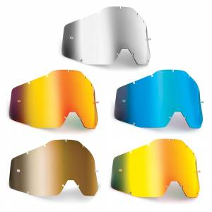 100% FMF Powerbomb Powercore Anti-Fog Mirror Replacement Goggle Lens