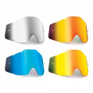 100% FMF Kids Powerbomb Powercore Anti-Fog Mirror Replacement Goggle Lens