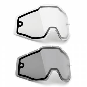 100% FMF Powerbomb Powercore Dual Pane Replacement Goggle Lens