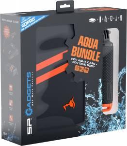 Aqua Bundle - Waterproof Case and POV Dive Buoy for Action cameras