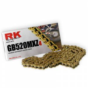 RK 520 MXZ4 Chain X 120 Links - Gold