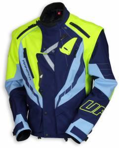 UFO Ranger Blue Fluo Yellow Enduro Jacket