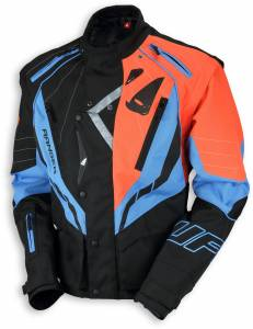 UFO Ranger Red Black Blue Enduro Jacket
