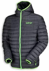 UFO Winter Jacket - Black Green (Front)