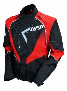 UFO Sierra Black Red Enduro Jacket