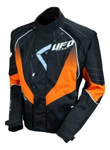 UFO Sierra Black Orange Enduro Jacket