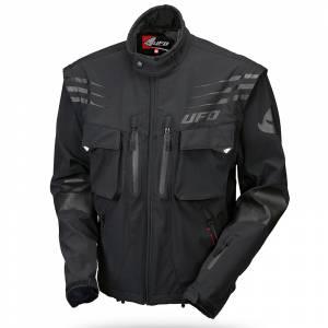 UFO Taiga Black Enduro Jacket