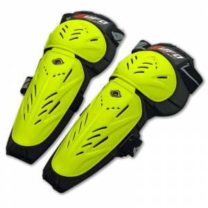UFO Limited Neon Yellow Knee/Shin Guards