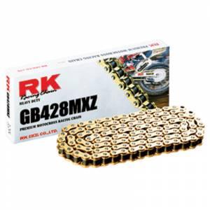 RK 428 MXZ Heavy Duty Chain X 134 Links - GOLD