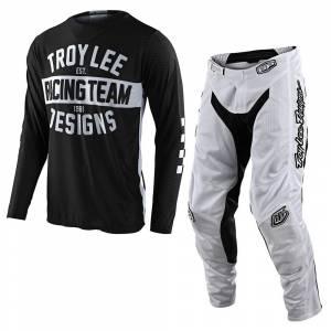 Troy Lee Designs GP Air Team 81 Black Motocross Kit Combo