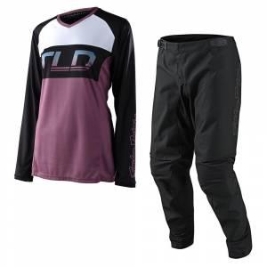Troy Lee Designs GP Icon Ginger Women's Motocross Kit Combo