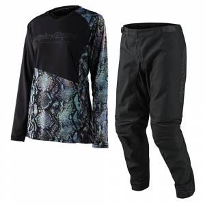 Troy Lee Designs GP Snake Multi Women's Motocross Kit Combo