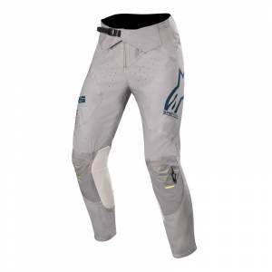 Alpinestars Supertech Grey Navy Yellow Fluo Motocross Pants