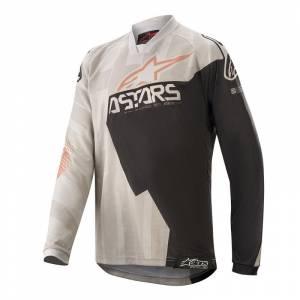 Alpinestars Kids Racer Factory Grey Black Rust Motocross Jersey