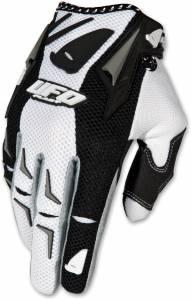 UFO AirBase White Motocross Gloves