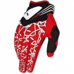UFO Punk Gloves Red