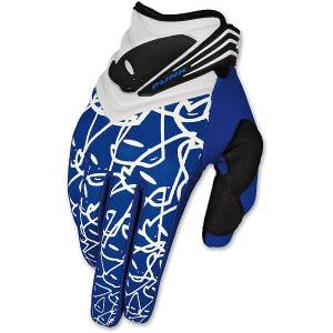 UFO Punk Gloves - Blue
