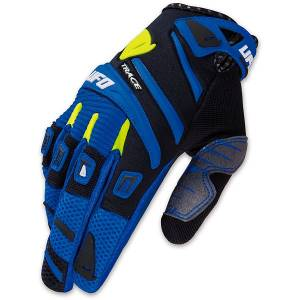 2016 UFO Adult Trace Gloves - Blue