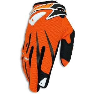 Cluster MX Gloves in Orange