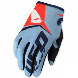 UFO Blue Vanguard MX Gloves