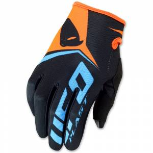 UFO Black Vanguard MX Gloves