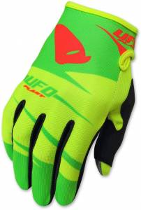 2018 UFO Hydra Motocross Gloves - Fluo Yellow Green