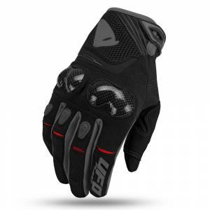 UFO Reason Black Grey Motocross Gloves
