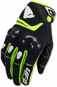 UFO Reason Carbon Black Motocross Gloves