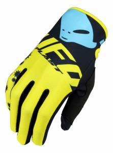 UFO Mizar Yellow Motocross Gloves