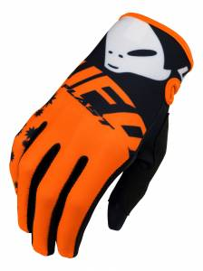 UFO Mizar Orange Motocross Gloves