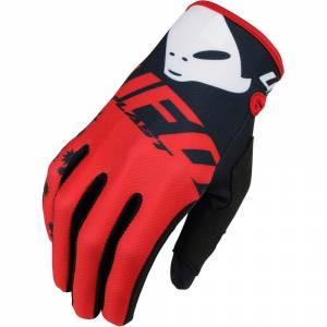 UFO Red Black Mizar Kids Motocross Gloves