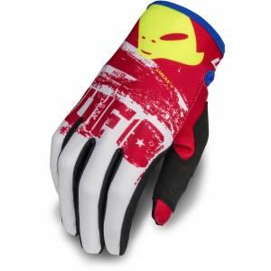 UFO Draft White Red Motocross Gloves