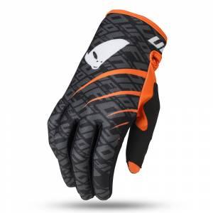 UFO Indium Black Motocross Gloves