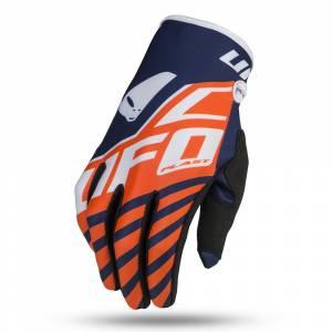 UFO Vanadium Neon Orange Motocross Gloves