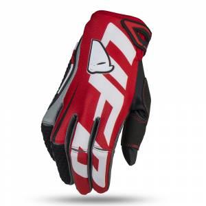 UFO Blaze Red Motocross Gloves