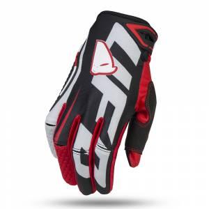 UFO Blaze Black Motocross Gloves