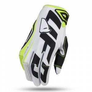 UFO Blaze White Motocross Gloves