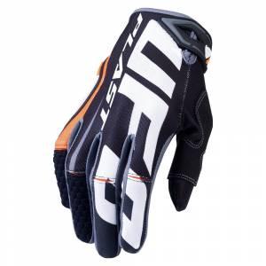 UFO Blaze Black Orange Motocross Gloves