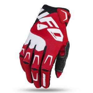 UFO Iridium Red Motocross Gloves