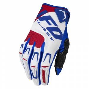 UFO Iridium White Motocross Gloves