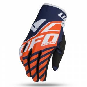 UFO Kids Vanadium Neon Orange Motocross Gloves