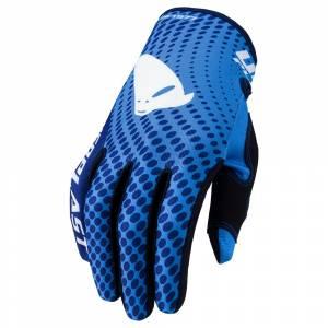 UFO Skill Radom Blue Motocross Gloves
