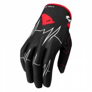 UFO Skill Adrenaline Black Motocross Gloves