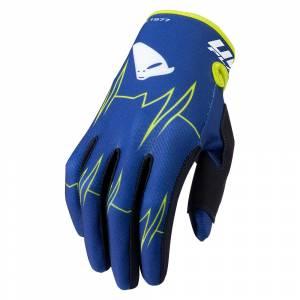 UFO Skill Adrenaline Blue Motocross Gloves